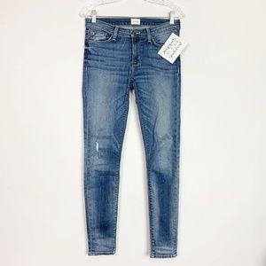 Hudson | Krista skinny jeans washed denim size 27